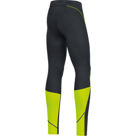 GORE WEAR R3 Tights Men black/neon yellow